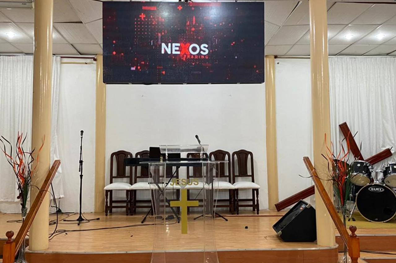Avellaneda , . Pantalla Indoor 2x1 P5